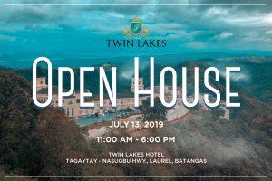 JULY 13 OPEN HOUSE