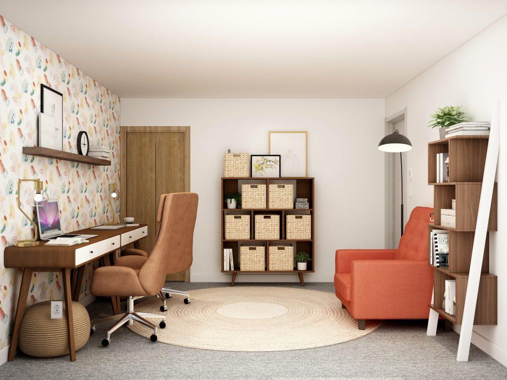 organized horizontally and vertically